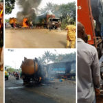 8 People Killed As Truck Crashes In Nnewi Anambra State (Photos & Video)