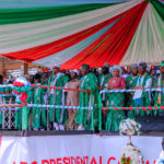 Buhari campaigns in Ekiti, says those with corruption cases mustn't escape (PHOTOS)