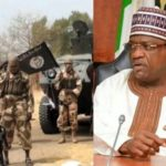 Boko Haram members prevent Yobe state governor, Ibrahim Gaidam, from voting