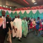 Elections: Atiku And Buhari Arrive At Venue For Signing Of Second Peace Accord (PHOTOS)