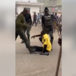 Armed Policemen Brutally Beat Road Safety Official Publicly In Kano (Photos & Video)