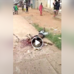 Man Hacked To Death By Cultists After Bullet Failed To Penetrate His Body (Graphic Photos)