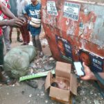 New Born Baby Found Dead After Being Dumped In A Carton In Anambra (Photos)