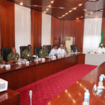 Buhari Holds Security Meeting With Service Chiefs
