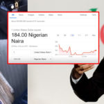 Google Confirms Dollar-To-Naira Drop, Says N184 Per Dollar Is An Error