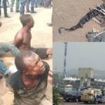 Thugs Nabbed With Charms At APC's Presidential Rally In Ogun (Photos)