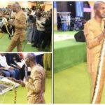 End Time Pastor reportedly uses snake for deliverance during church service (PHOTOS)