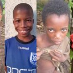 Incredible transformation of two rescued Nigerian children who were branded witches (PHOTOS)
