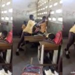 Teacher Leaves Pupils To Fight Because Caning Has Been Banned In School (Photos & Video)