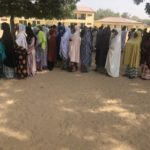 Maiduguri residents file out to vote despite explosions (Photos)