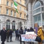 'Buhari Stop The Bloodshed In Rivers State'- Nigerians Protest In London (Photos)