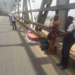 Corpse Rescued As Vehicle Conveying It Catches Fire On Onitsha Head Bridge (Photos)