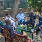 Tinubu, Osinbajo, Ambode, Fashola, Sanwo-Olu Meets In Lagos Ahead Governorship Elections (photos)