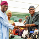 Lagos State Governor-Elect, Sanwo-Olu Gets Certificate Of Return