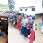 Abia Governor Shares Kerosene To Residents Ahead Guber Poll (Photos)