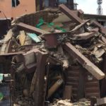 Two injured in another collapse Lagos building