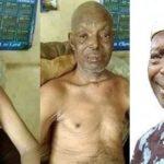 Sick Veteran Yoruba Actor, Alabi Yellow Moves In With His Mum In 1 Room