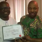 Rep-elect Visits MC Oluomo, Presents Certificate Of Return