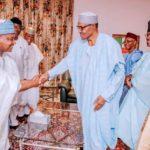 APC Governors Meet Buhari At Aso Villa
