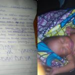 New Born Baby Abandoned By Her Mother In Kaduna With Written Note (Photos)