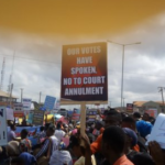 Group protest verdict of Osun election petition tribunal
