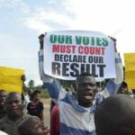 Abia residents protest over results of National Assembly elections (PHOTOS)