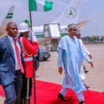 Buhari Returns To Abuja After Governorship Election