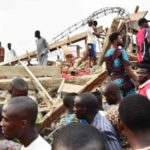 Trapped Victims Cry For Help As Three Storey Building Collapses In Ibadan (P{hotos & Video)