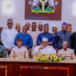 Buhari Moves To Prevent National Assembly Hijack, Meets APC Governors, Senators-Elect At Aso Rock