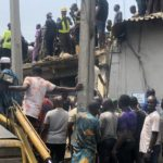 Woman Loses 5 Kids In Lagos School Building Collapse (photos)