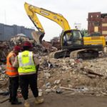 Breaking News: Lagos Begins Demolition Of 180 Houses After School Building Collapse