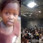 See The Deplorable State Of School Attended By Viral Little Girl Who Was Chased Home For Not Paying School Fees (Photos+Video)
