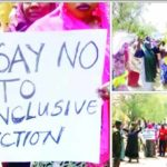Photos: Women Protest Against Inconclusive Election In Sokoto