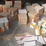 Drugs Concealed In HIV Sachets Intercepted While Being Transported To Nigeria. (Photos)