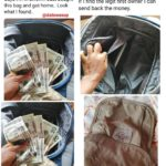 "Woman Finds Dollar Notes In a Used ""Okrika"" Bag She Bought"
