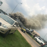 BREAKING: Sam Mbakwe Airport In Owerri, Imo State Is On Fire (video & photos)