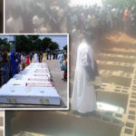 9 Boys Brigade Members Killed By Policeman, NSDC Officer During Easter Laid To Rest In Gombe (Photos)