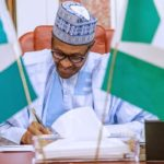 Buhari Finally Signs Minimum Wage Bill Into Law