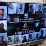 10 Nigerian Drug Dealers Busted By Police In Italy, Set To Be Deported. (Photos & Video)