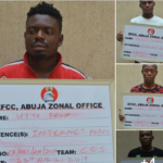 Suspected Yahoo Boys Injure EFCC Operative During Arrest In Abuja. (Photos)