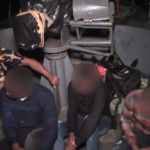 4 Nigerians Arrested While Trying To Illegally Emigrate To India Through The Sea. (Photos & Video)