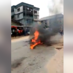 Robber Burnt To Death By Mob After Being Abandoned During Operation (Photos & Video)