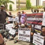 Ogah Jumbo: Protesters shutdown Abuja over murder of NSCDC personnel