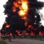 BREAKING: Explosion Rocks Ondo, 5 Oil Wells On Fire