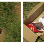 Baby Found Dead After Being Abandoned In A Carton In Onitsha, Anambra (photos)