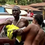 Drama As Commercial Sexworker Strips To Beat Man In Anambra For Failing To Pay After Service (photos)