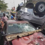 Impatient Driver Causes Ghastly Multiple Accident In Abuja (Photos)