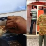 Man Caught Withdrawing Money From ATM Machine Without 'ATM Card' In Ibadan