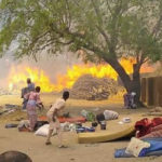 Over 300 Resident Rendered Homeless After Fire Razes 40 Shelters Of Borno IDPs