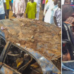Two Friends Escape Death On Easter Sunday After A Ghastly Accident In Abuja (Photos)